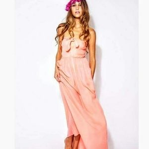 Zinke Zoe Sundress Beach Cover-up Maxi Dress